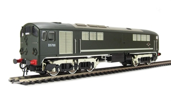 2800 Class 28 Co-Bo D5700 Full BR Green - with modified windows.