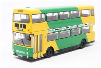 "29010-PO GM Standard Fleetline d/deck bus ""Badgerline"" - Pre-owned - cracked paint"