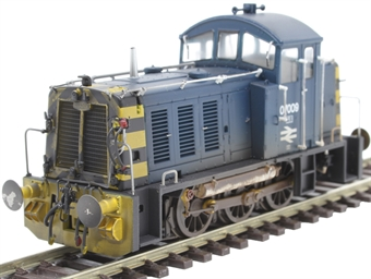 2915 Class 07 shunter 07009 in BR blue - weathered