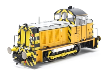 2930-PO01 Class 07 shunter 07001 in Harry Needle Railroad Company livery - Exclusive to Hattons Model Railways - Open box, replacement bag for details £91