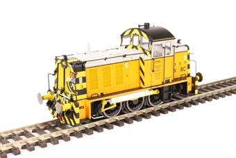 2930 Class 07 shunter 07001 in Harry Needle Railroad Company livery - Exclusive to Hattons Model Railways