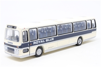 """29504-PO03 Plaxton Panorama Type B 1970's coach """"Royal Blue"""" - Pre-owned - Like new £13"""