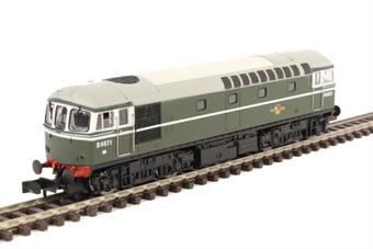 2D-001-001 Class 33/0 D6571 in BR green with no yellow panel