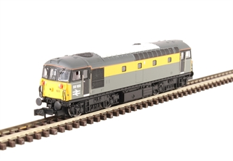 2D-001-021D Class 33/1 33103 in BR civil engineers 'Dutch' livery - DCC fitted