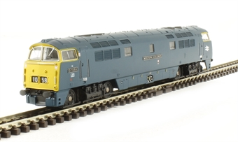 "2D-003-004 Class 52 D1058 ""Western Nobleman"" in BR blue with full yellow ends £108"