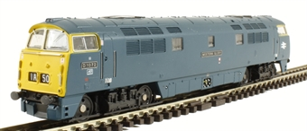 "2D-003-005 Class 52 diesel locomotive D1072 ""Western Glory"" in BR blue with full yellow ends £79"