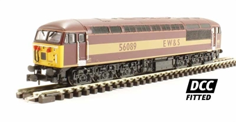 2D-004-005D Class 56 56089 in EWS livery - DCC fitted