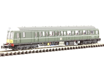 2D-009-000 Class 121 single car DMU 'Bubble car' W55022 in BR green with small yellow warning panel