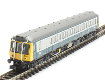 2D-009-002D Class 121 single car DMU 'Bubble car' 55032 in BR blue/grey (DCC Fitted)