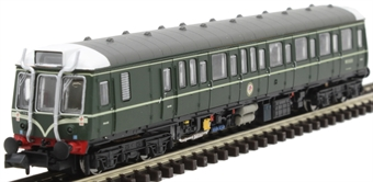 2D-009-003D Class 121 'Bubble Car' DMU W55033 in BR green with speed whiskers - DCC fitted
