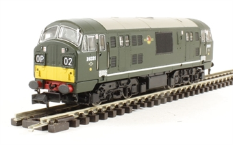 2D-012-005 Class 22 diesel locomotive D6331 in BR green with small yellow panels