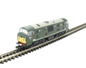 2D-012-008D Class 22 diesel locomotive D6311 in BR green with small yellow panels & disc headcodes. DCC Fitted £144