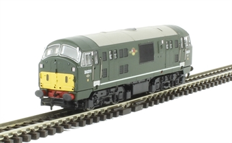 2D-012-008 Class 22 diesel locomotive D6311 in BR green with small yellow panels & disc headcodes