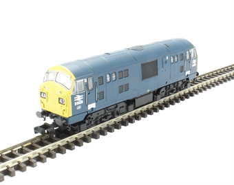 2D-012-014 Class 22 diesel locomotive D6328 in BR blue (pre-TOPs font numbering)