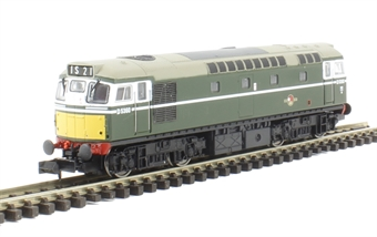 2D-013-053 Class 27 diesel D5360 in BR green with small yellow panel (Dummy)