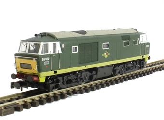 2D-018-005 Class 35 Hymek D7072 in BR green - Unpowered dummy