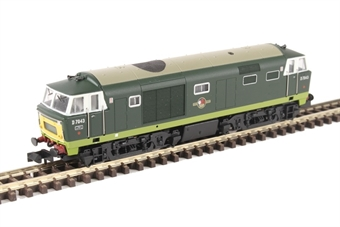 2D-018-008D Class 35 'Hymek' D7043 in BR green with small yellow panels - DCC fitted