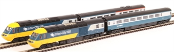 2D-019-005 Class 43 HST 4-car book set in BR Intercity 125 blue and grey