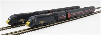 2D-019-008 Class 43 HST 4-car book set in GNER blue
