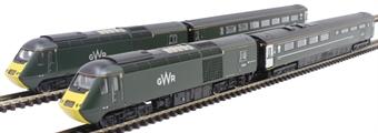 2D-019-009 Class 43 HST 4-car book set in GWR Green