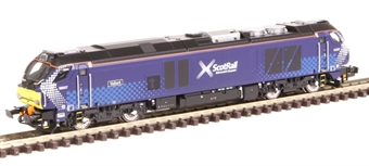 """2D-022-006D Class 68 68007 """"Valiant"""" in Scotrail livery - DCC fitted"""
