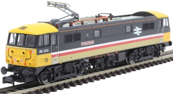 """2D-026-003 Class 86/2 86243 """"The Boys Brigade"""" in Intercity Executive livery"""