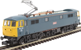 """2D-026-004D Class 86/2 86216 """"Meteor"""" in BR blue - DCC fitted"""
