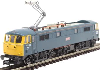 "2D-026-004 Class 86/2 86216 ""Meteor"" in BR blue"