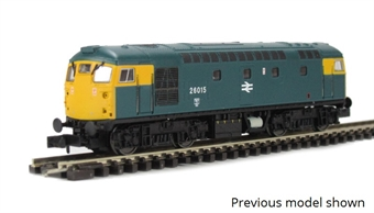 2D-028-003D Class 26 26025 in BR blue with scottie dog emblem - Digital fitted