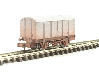 2F-013-028 Gunpowder Van LMS Grey 7004 Weathered