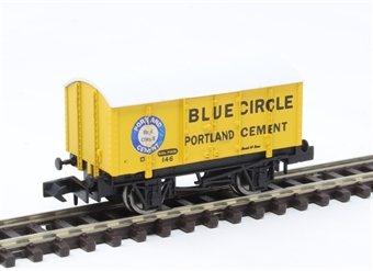 "2F-013-045 4 wheel gunpowder van ""Blue Circle"""
