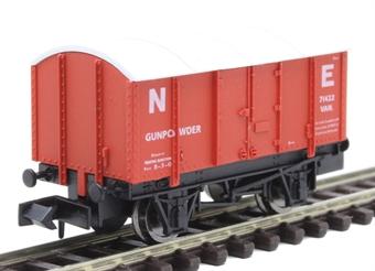 2F-013-055 10 ton GPV gunpowder van in NE red