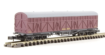 2F-023-004 Siphon H milk wagon 1434 in BR livery