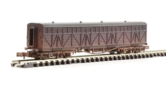 2F-024-007 Siphon G milk wagon 1445 in BR livery - weathered