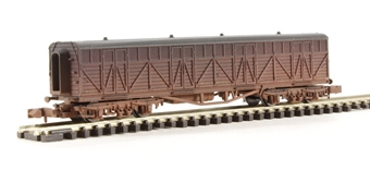 2F-024-008 Siphon G milk wagon 1457 in BR livery - weathered