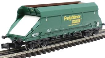 2F-026-001 HIA aggregate limestone hopper 369008 in Freightliner green livery