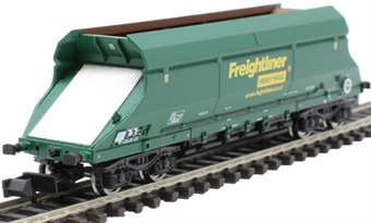 2F-026-002 HIA aggregate limestone hopper 369052 in Freightliner green livery