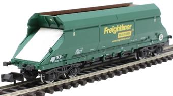 2F-026-006 HIA aggregate limestone hopper 369020 in Freightliner green livery