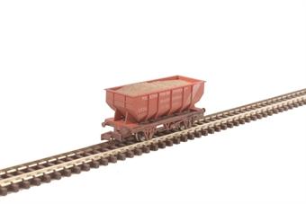 """2F-034-032 21 ton hopper wagon """"Pilkington"""" - weathered"""