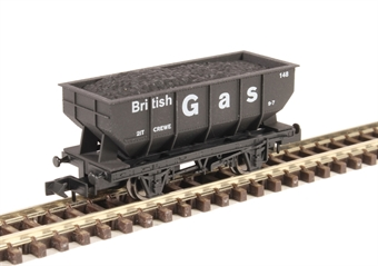 "2F-034-057 21-ton hopper ""British Gas"""