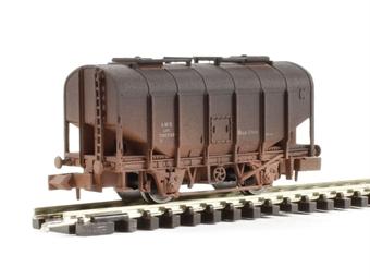 "2F-036-008 Bulk grain hopper ""LMS bauxite"" - weathered"