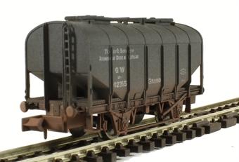 2F-036-020 Bulk Grain Hopper - GWR Avonmouth - weathered