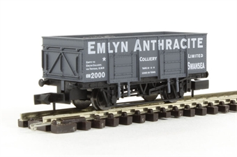 "2F-038-009 20 Ton Steel mineral wagon ""Emlyn Anthracite"""