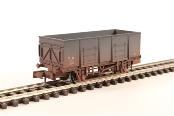 2F-038-042 20T Steel Mineral GWR 33250 Weathered
