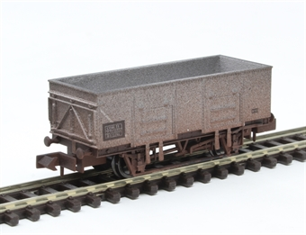 2F-038-050 20-ton steel mineral wagon 315780 in BR grey £11.50