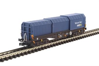 2F-039-009 Telescopic Hood Wagon in Tiphook Rail blue 33 70 0899 046-3