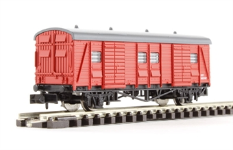 2F-047-004 CCT parcel van in BR Engineers Red