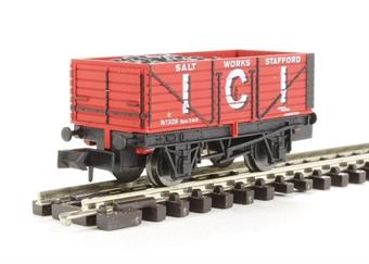 """2F-071-012 7 plank wagon """"ICI"""" £8"""