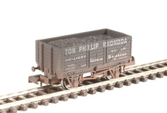 "2F-071-023 7-plank open wagon ""Ton Philip"" 277 - weathered"