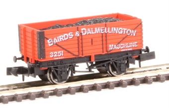 "2F-071-024 7-plank open wagon - ""Bairds and Dalmellington Ltd"""